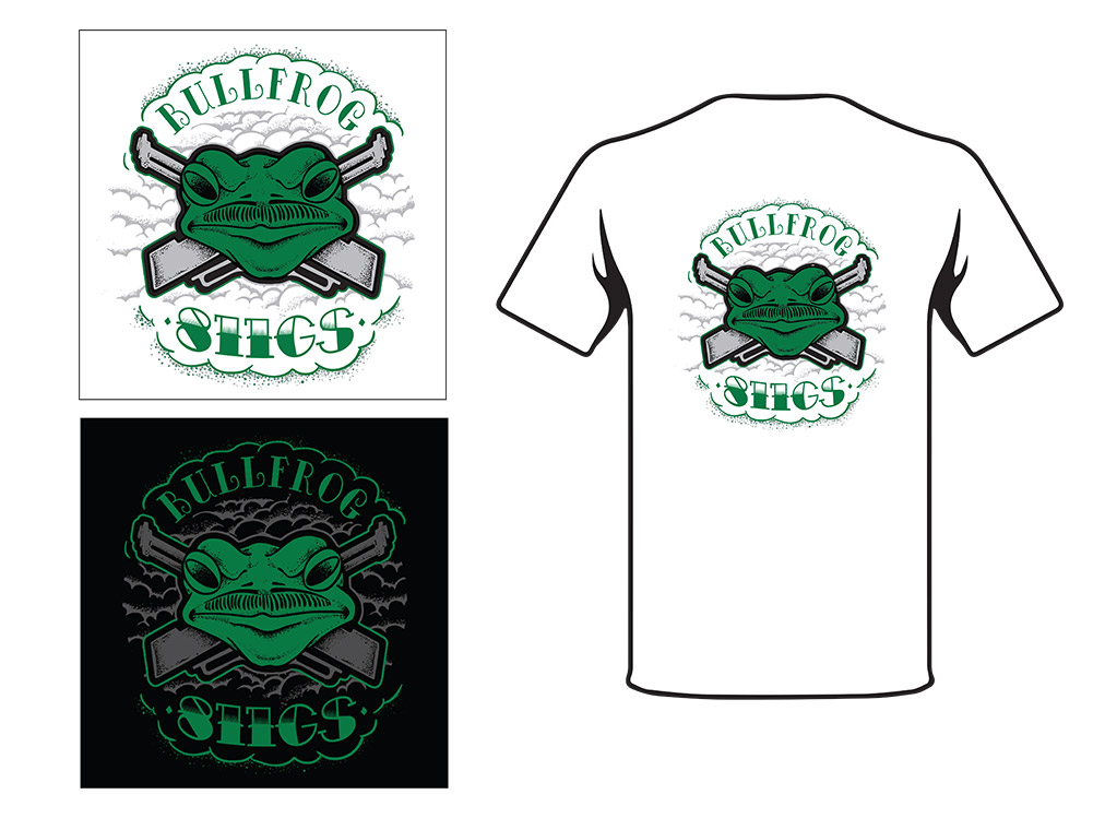 H4H Bullfrog Shirt Back